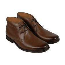 Clarks Holmby Top Mens Brown Leather Casual Dress Lace Up Oxfords Shoes