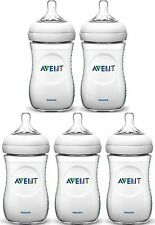 Avent NATURAL FEEDING BOTTLES 260ML Baby/Toddler Bottle 2 Pack/3Pack