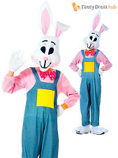 Childs Country Rabbit Costume Boys Girls Bunny Fancy Dress Kids Easter Outfit