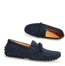 Mens casual Moccasin gommino Loafer slip on comfort suede boats Driving Shoes