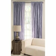 Tattered Cotton 84 Inch Window Curtain Panel