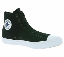 NEW Converse All Star Chuck Taylor II Hi Shoes Trainers Black