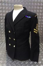 Genuine Royal Navy Woman's No1B Double Breasted Dress Jacket WRNS / Sea Cadets