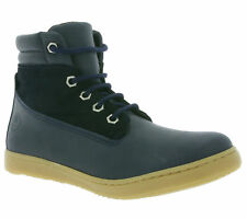 giggs High Top Children Real leather Sneaker Boat Ankle boots Blue 125493 302