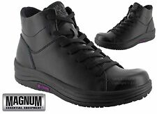 LADIES WOMENS MAGNUM LEATHER WALKING HIKING WATERPROOF ANKLE BOOTS SHOES SIZE