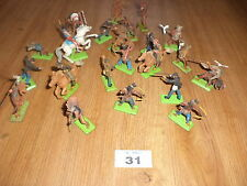 Britains cowboys and Indians toys