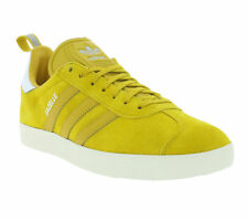 NEW adidas Originals Gazelle Shoes Trainers Yellow S76223 Sports
