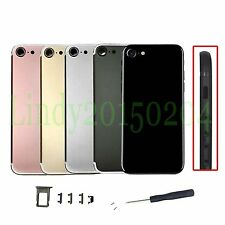 For iphone 7 plus  Repair Part Multicolor Metal Back Battery Door Cover Housing