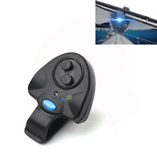 Sensitive Electronic LED Light Fish Bite Sound Alarm Bell Clip On Fishing Rod