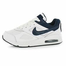 Nike Air Max Ivo Trainers Juniors White/Navy Sports Shoes Sneakers Footwear