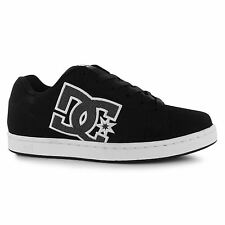 DC Serial Graffik Skate Shoes Mens Black/Grey Casual Trainers Sneakers
