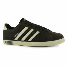 adidas Derby Vulc Suede Trainers Mens Brown/White Sports Shoes Sneakers Footwear