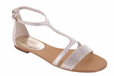 GUESS Women's Sandals Strappy sandals Silver #695