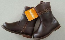 NWT Gymboree Girls 6 7 8 9 Riding Boots BROWN Horse FALL Back to Blooms  #762317