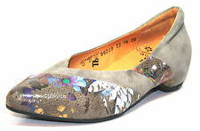 Think 86220 Size 36 38 41 Women Shoes Loafers Pumps Natural Shoes New
