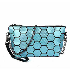 Geometric Evening Handbag Shoulder Bags Women Laser Cross body Messenger Bag