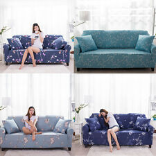 Home Sofa Chair Cover Furniture Seat 1/2/3/4 Seater Protector Couch Slipcover G