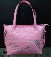 New Hellokitty Bright Pink Handbag Shoulder Bag Purse AA-18P