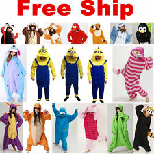 Fashion Unisex Onesie Sleepwear Adult Costume Pajamas Kigurumi Animal Cosplay
