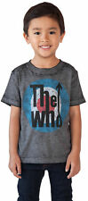 Toddler Baby Boys The Who Band T-Shirt - Short Sleeve Gray