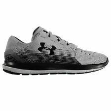 Under Armour Speedform SlingRide Running Shoes Mens Gry/Blk Trainers Sneakers