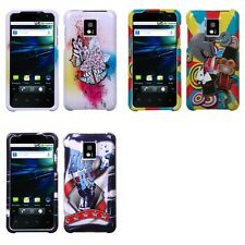 For LG Optimus G2X P990 Design Snap-On Hard Case Phone Cover