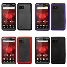 For Motorola Droid Bionic XT875 TPU Hard Case Skin Phone Cover
