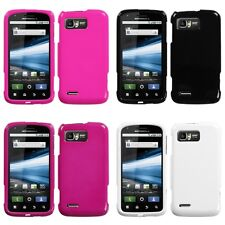 For Motorola Atrix 2 MB865 Rigid Plastic Hard Snap-On Case Phone Cover