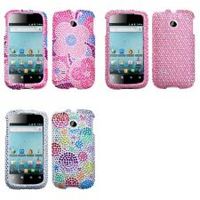 For Huawei Ascend 2 M865 Diamond Diamante Bling Rhinestone Case Cover