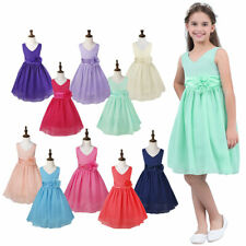 Pageant Graduation Flower Girl Kid Birthday Wedding Bridesmaid Formal Gown Dress