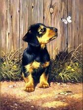 Royal & Langnickel - PJS51 - Dacshund Puppy, paint by numbers
