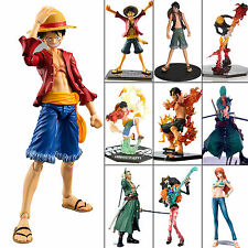 JP Anime One Piece Figurine Figure Toy Luffy /Nami /Ace /Zoro /Sanji Model PVC