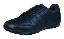 Geox J Xitizen B Boys Leather Sneakers / Casual Shoes - Black
