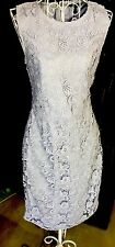 Banana Republic Womens Sheath Dress NEW GORGEOUS-Lavender/Lace-Lined-MSRP-$109