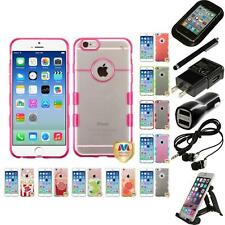 For Apple iPhone 6/6S [4.7] TPU Hard Case Skin Phone Cover Accessories
