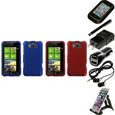 For HTC Titan X310a Snap-On Hard Case Phone Skin Cover Accessory Accessories