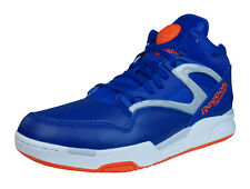 Reebok Pump Omni Lite Mens Leather Hi Top Sneakers - Blue