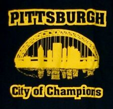 PITTSBURGH City of Champions T-Shirt black and gold