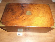Victorian writing slope  for restoration wooden box