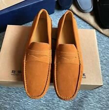 Fashion colors mens slip on loafer flat casual driving shoes moccasin gommino
