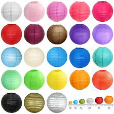 "10Pcs of 8"" 10"" 12"" 14"" 16""Paper Lantern Chinese Decoration Wedding Party Choose"