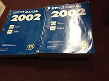 2002 GM Chevy Astro GMC Safari Service Shop Repair Manual SET OEM FACTORY