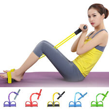 4-Tube Foot Pedal Pull Body Yoga Resistance Exercise Sit-up Fitness Equipment