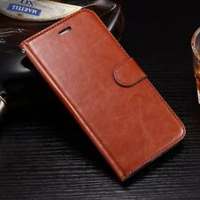 Luxury Filp Leather Photo Frame Stand Card Wallet Case Cover For iPhone 7 plus