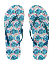 aeropostale womens fish printed flip-flop white