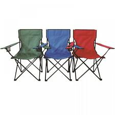 Folding Camping Chair Festival Hiking Fishing Garden Beach Indoor Outdoor Seat