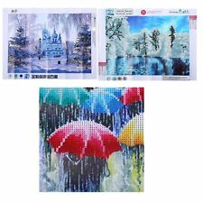 30*40CM Landscape Pattern DIY Painting Embroidery Cross Stitch Painting HT