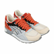 Asics Gel-Lyte Speed Mens Gray Leather & Sneakers Lace Up Athletic Shoes
