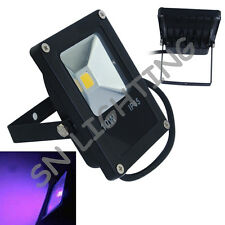 Outdoor 10Watt Ultra Violet 365-375-385-395-405-415nm LED Floodlight 110-220V AC