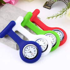 Mini Portable Silicone Gel Doctor Nurses Brooch Pin Pocket Fob Tunic Watch HT